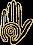Gold Labyrinth Mandala Celtic Symbols (23)-min